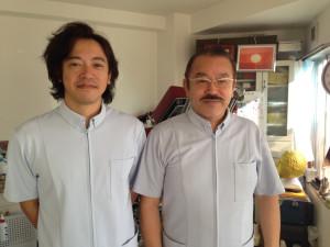 深澤英之と師匠の古田稔先生